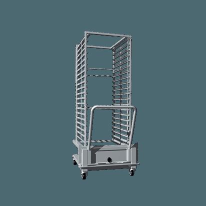 Vstavni voziček za pladnje - za modele 20 GN 2/1