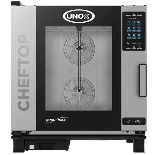 Plinska parno konvekcijska pečica UNOX CHEFTOP MIND.Maps™ 7 GN 1/1 - PLUS