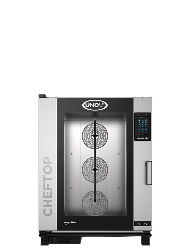 Električna parnokonvekcijska pečica UNOX CHEFTOP MIND.Maps™ 10 GN 2/1 - PLUS