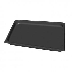 Black.40 - GN 1/1 pekač iz nerjavečega jekla z neoprijemljivim premazom h=40 mm