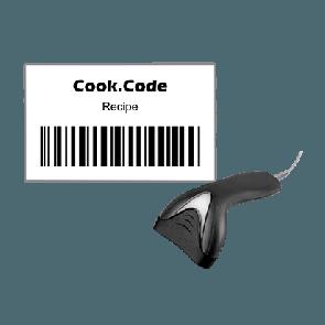 UNOX.Link z Cook.Code skenerjem
