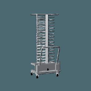 Vstavni voziček za krožnike - za modele 20 GN 1/1