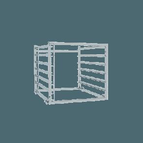 Vstavna košara z GN vodili - 6 x GN 2/1